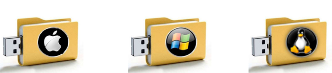 Creare un'unità USB bootable per installare Windows/LINUX/MAC OSX
