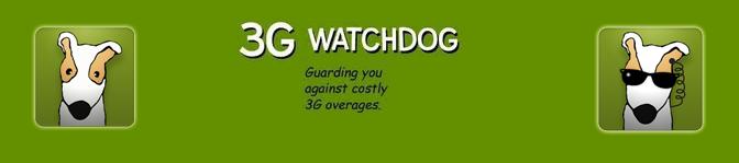 ANDROID: Come sapere quanto traffico dati avete usato con 3g Watchdog