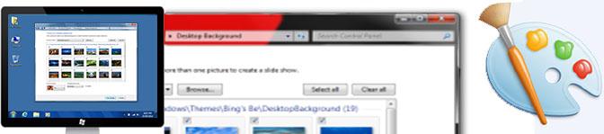 Come cambiare l'aspetto della scrivania sfondi e altro su Windows