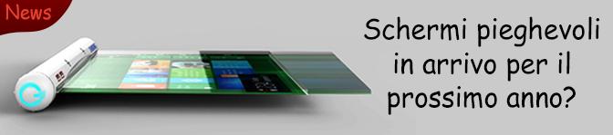 NEWS – Samsung rivela in anteprima il prototipo di smartphone 'arrotolabile'