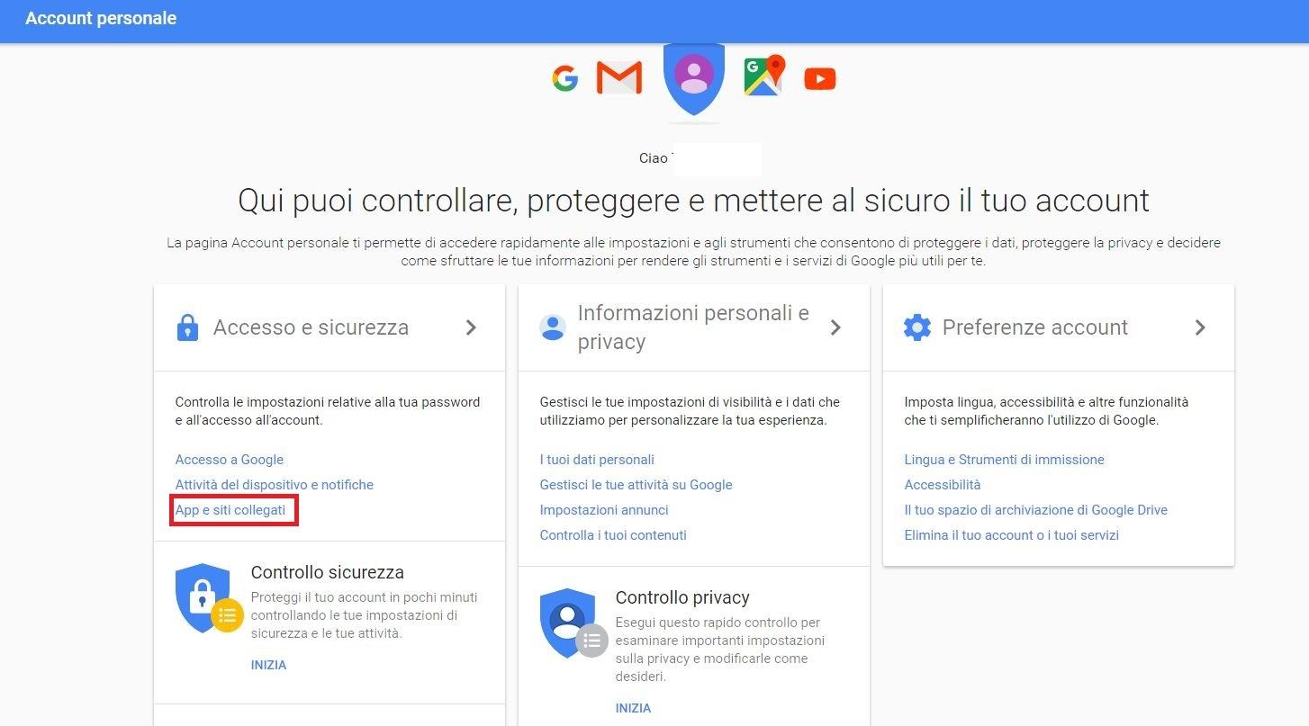 app meno sicure gmail