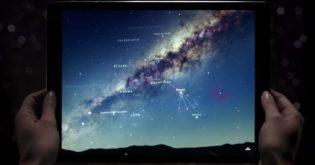 Guardare le stelle con l'iPad!