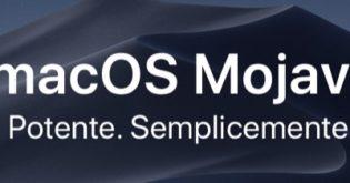 Installare il nuovo macOS Mojave 10.14